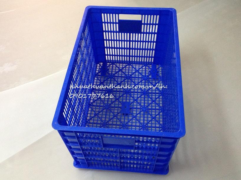 Thùng nhựa HS0199(sọt có 5 bánh xe)
