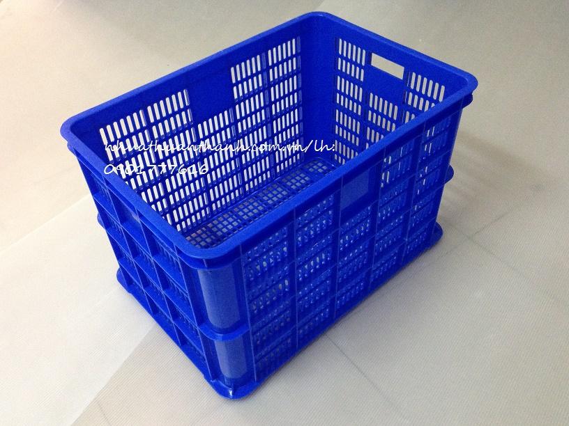 Thùng nhựa rỗng HS005 kích thước 610x420x390mm do nhựa Thuận thành sản xuất