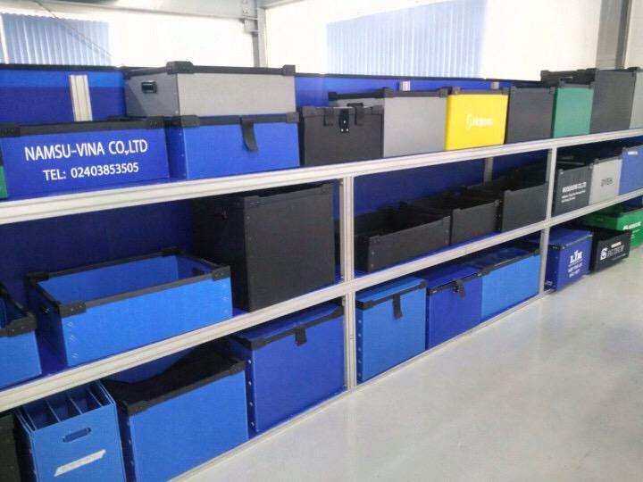 Tấm  nhựa danpla của nhà máy nhựa Thuận Thành sản xuất mua ở đâu