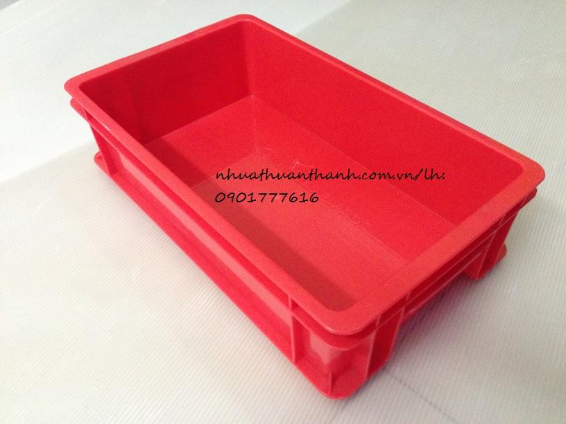 Thùng nhựa B2 thương hiệu Nhựa Thuận Thành chất lượng bền, đẹp, giá rẻ